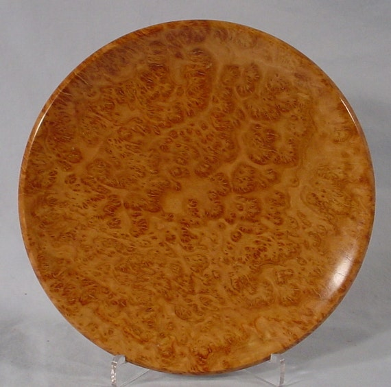 Yellow Box Burl wood bowl, turned wooden bowl number 4661 by Bryan Tyler Nelson for Nelsonwood