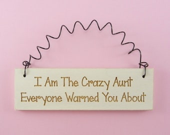 Popular items for Crazy Aunt on Etsy