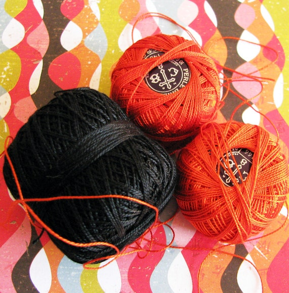 Sowing for the Harvest...Spicy Vintage Crochet Thread