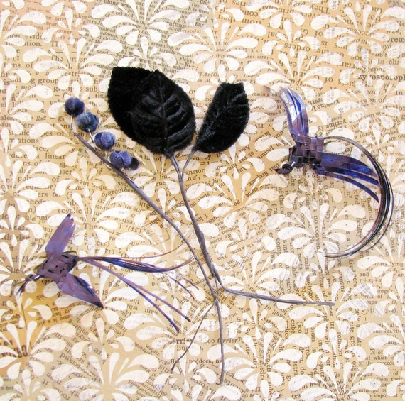 The Mad Hatter's Shop...Vintage Millinery Trim