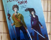 Zombies Can't Swim - Signed 40 page COMIC