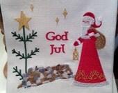 God Jul Santa for Christmas