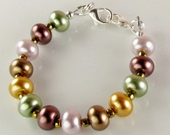 Fall Autumn Medical Bracelet attachment only for Your ID tag - replacement bracelet