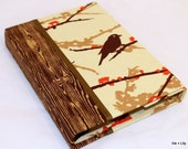 Kindle Touch Case / Kindle Case / Nook Cover - Hardcover Book Style, Joel Dewberry Sparrows Bark,  Magnet Close Personalize
