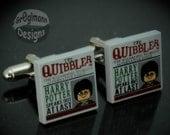LEGO Harry Potter Cufflinks Quibbler Magazine