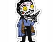 Lando Calavera Die Cut Vinyl Sticker
