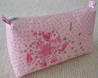 Pink  Zipper Pouch