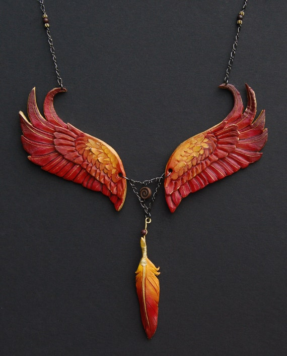 Eternal Phoenix - Leather Pendant