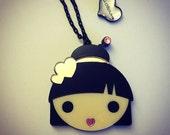 Kawaii Harajuku Girl Necklace