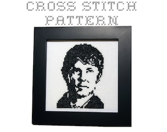 DIY Sherlock - Dr John Watson  - .pdf Original Cross Stitch Pattern - Instant Download