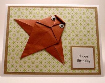 Origami Owl Birthday Card