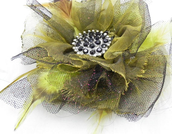 Items similar to fabric flower tutorial pdf ebook hair for Easy handmade flowers