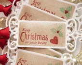 Christmas Gift Tags, Christmas Favors, Christmas Wedding, Vintage Christmas Tags, Old Fashioned Christmas, Christmas 2015 Tags, Favor Tags