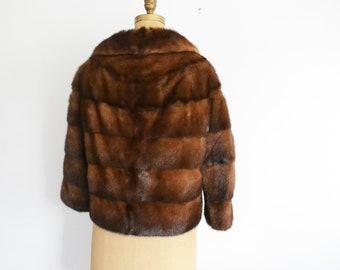 Mink  jacket /  Mink fur jacket Vintage Fur Jacket mink coat