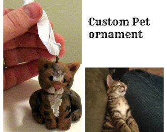 Family Pet Pawfectly cute ornament completely customizable
