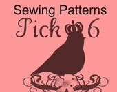 Whimsy Couture pick 6 Sewing Patterns Tutorials Ebooks save up to 40 percent PDF