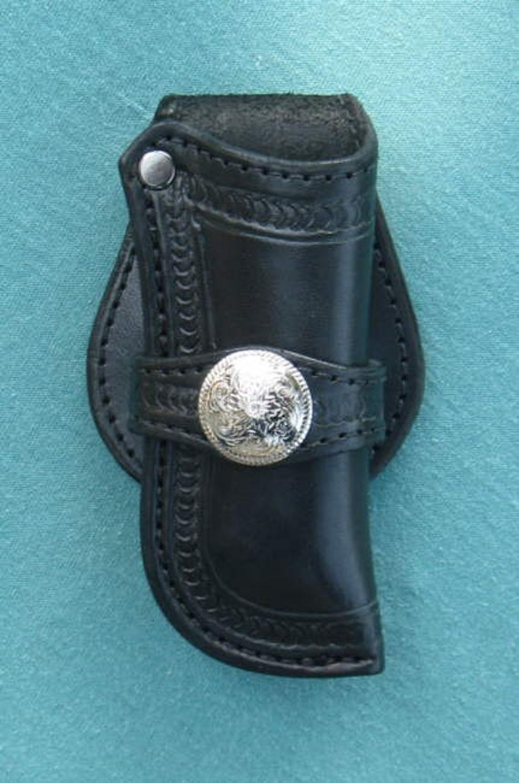 Buck 110 Leather Knife Sheath / custom holster style