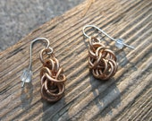 Copper Byzantine Earrings (PRICE REDUCED)