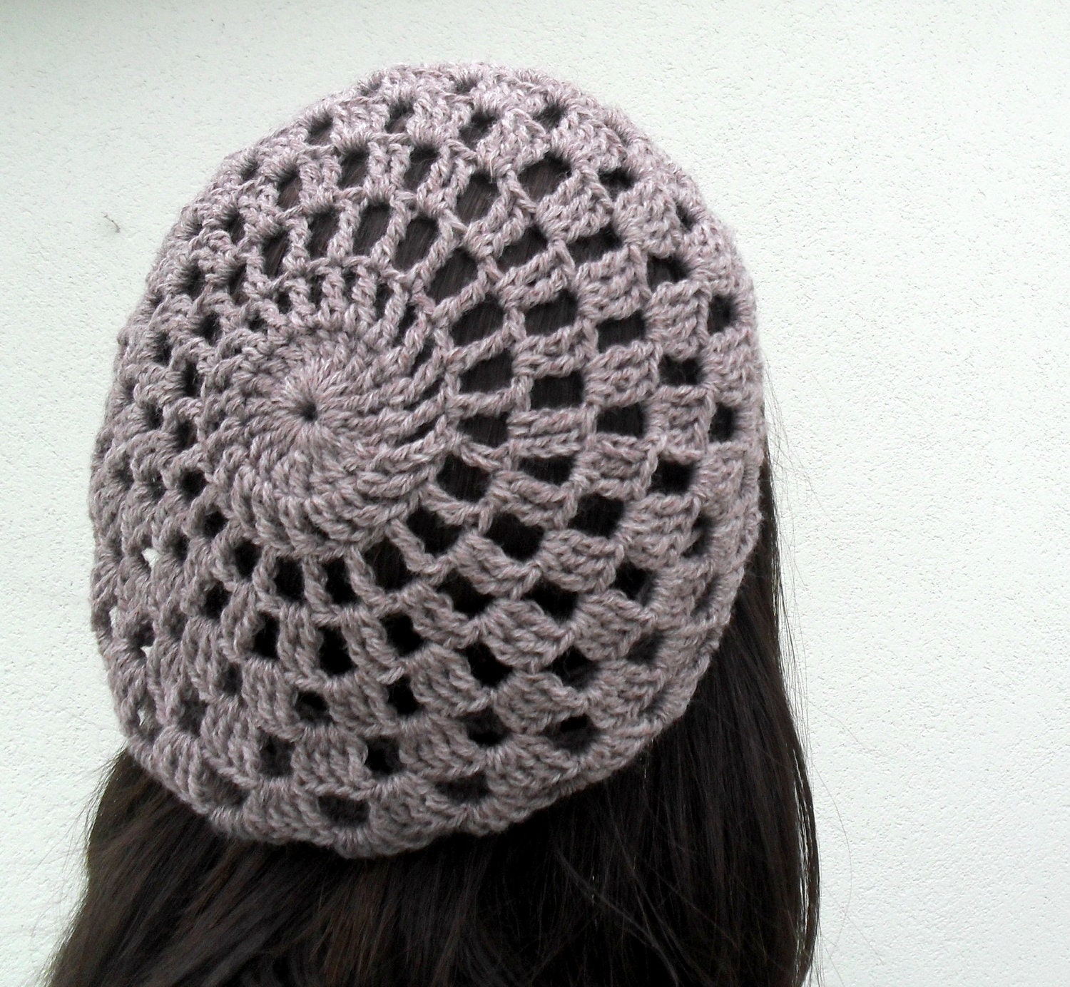 Items similar to PDF Pattern - Crochet hat slouchy beret ...