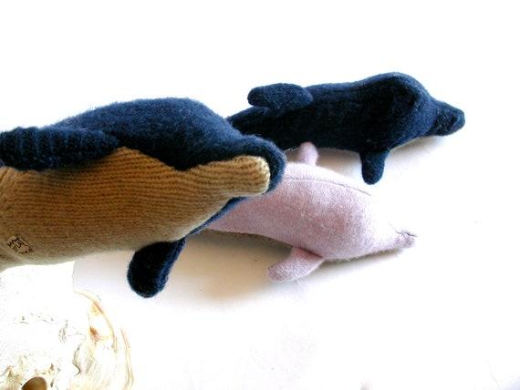 Sweater Scrap Dolphin