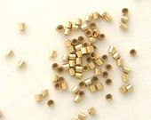 100 - MICRO Crimp Beads 1X1mm 14K20 Gold Filled