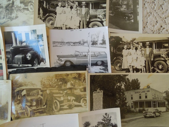 14 Vintage Photos of Cars Automobiles 1910's To 1950's