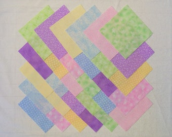 PASTEL PRINTS 5 inch Quilt Fabric Squares stk47A