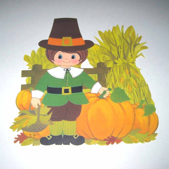 Cute Pilgrim Pictures Vintage Cute Pilgrim Corn