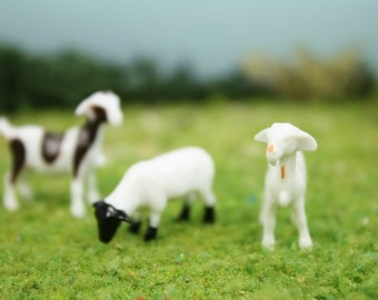 "3/4"" Goats/Sheep - Set of 6 - 102-2062"