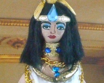 Cleopatra Doll Miniature Queen Collectible Ancient History