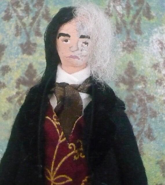 Dorian Gray Oscar Wilde Doll Miniature Classic Literature Art