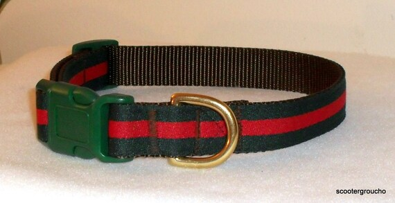 Handcrafted Designer Inspired Collar & Leash Set ..Great Look