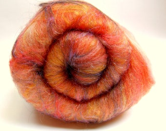 Fiber Batt for Spinning or Felting
