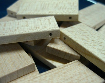 Double-Drilled Mini Domino Tiles (lot of 20)