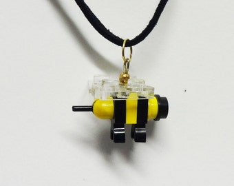 Mini Bumble Bee Necklace
