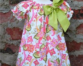 New for Fall / Winter - Vintage Floral Peasant Dress - See listing for available size information
