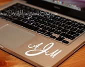 3 inch Monogram Vinyl decal