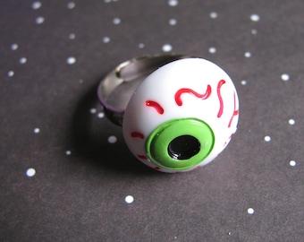 Halloween Eyeball Ring