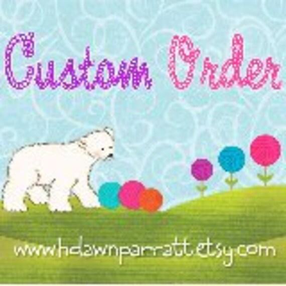 Custom order for loves2scrap