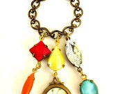 Sunshine Buttercup. A Pretty And Whimsical Charm Necklace