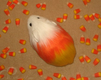 Little Candy Corn Guinea Pig Plushie