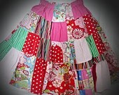 Beautiful pre-loved twirly skirt with gorgeous fabrics, including oilily.  Inbuilt shorts, girls size 5,6