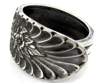 Riveria Revisited Spoon Ring 1954 Vintage