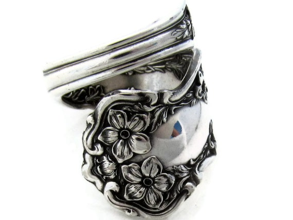 Size 9 Chester  Wrapped Spoon Ring 1900 Pattern