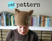 PDF Knitting Pattern Woodland Creature Hat