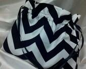 CUSTOM COLORS CHEVRON Money Bag Custom Colors Choose Your Color  zigzag Money Dance Card Bag Bridal Purse-