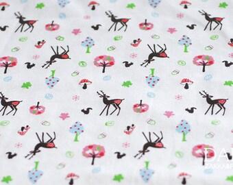 3072 - Fawn Cotton Jersey Knit Fabric - 70 Inch (Width) x 1/2 Yard (Length)