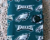 Philadelphia Eagles Padded E Reader Cover for Ipad Mini, Kindle Touch, Kindle Fire, Nook Color