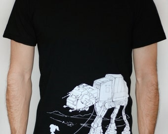 My Star Wars AT-AT Pet - American Apparel Mens tshirt - 2XL, 3XL ( Star Wars shirt )