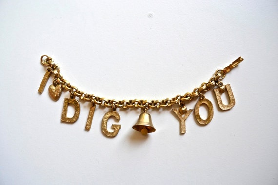 I Dig You - Charm Bracelet by Coro